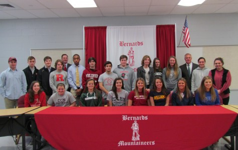 Bernards Athletes Celebrate Their Commitments