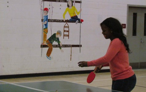 Ping Pong Tournament Fundraises for the Intergenerational Prom