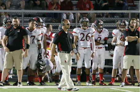 Head Football Coach Jon Simoneau Becomes Winningest Coach in Bernards History