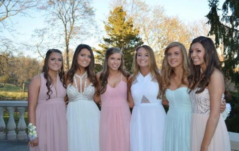 Juniors attend prom at Basking Ridge Country Club