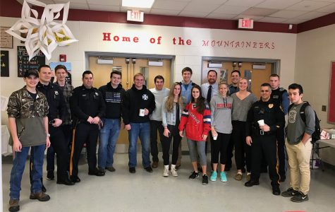 First Coffee With A Cop Held At BHS