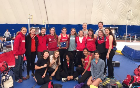 Girls track team wins the Sectional title