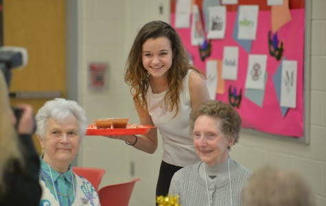 Senior Citizens Enjoy the Annual Intergenerational Prom