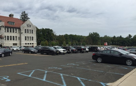 The senior parking lot