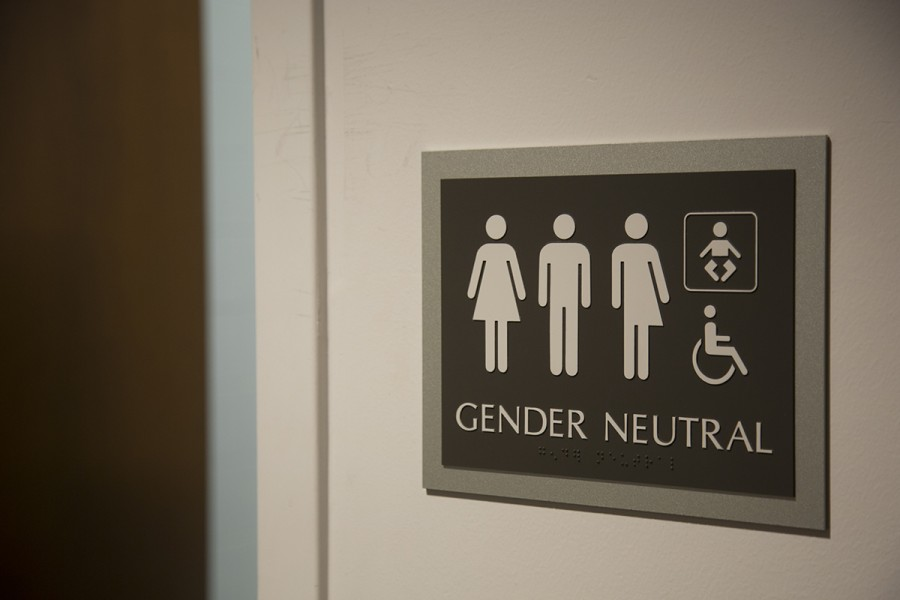 An example of a gender neutral bathroom