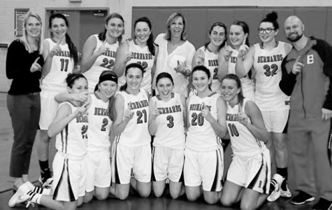 Girls' Basketball wins second consecutive conference title