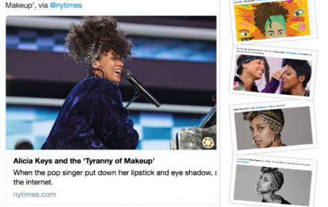 Alicia Keys No Make-Up Movement