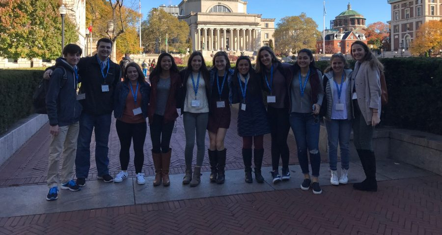 Journalism and Yearbook attend CSPA conference