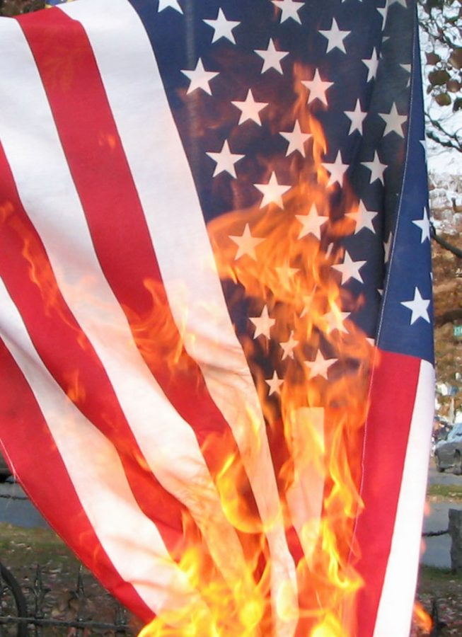 Great Debate: Should it be a crime to burn the American Flag?
