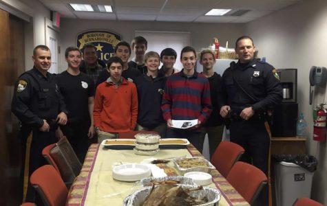 Gourmet Guys Cook For Bernardsville Police
