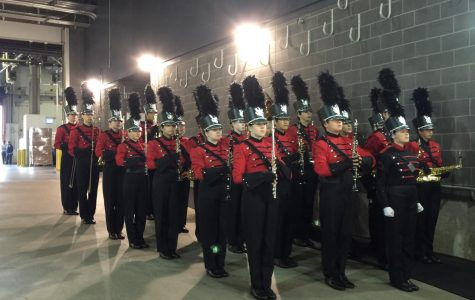 Marching Band Plays on to Victory