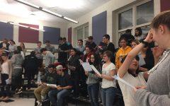 Chorus and Band kick off Holiday Season