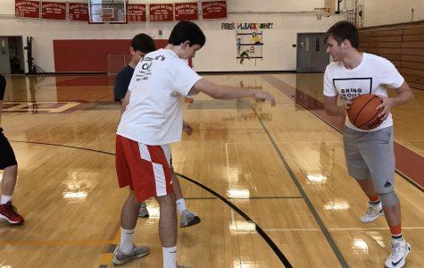 Intramural basketball brings excitement after school