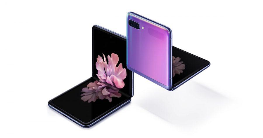 The+new+Samsung+Galaxy+Z+Flip+Phone