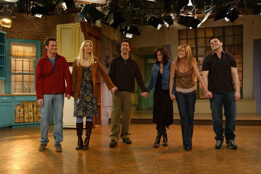 Friends+cast+on+stage+for+the+last+time