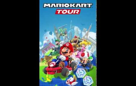 Cover for new MarioKart Tour game, now available for digital devices