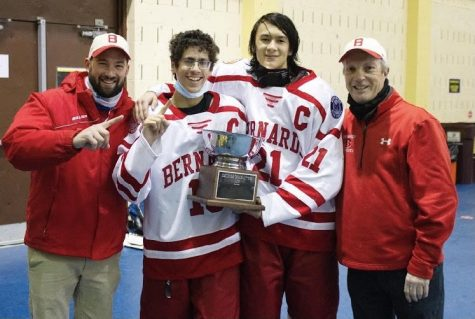Ice Hockey wins Charette Cup