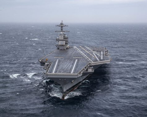 Construction of new Aircraft Carrier class has begun