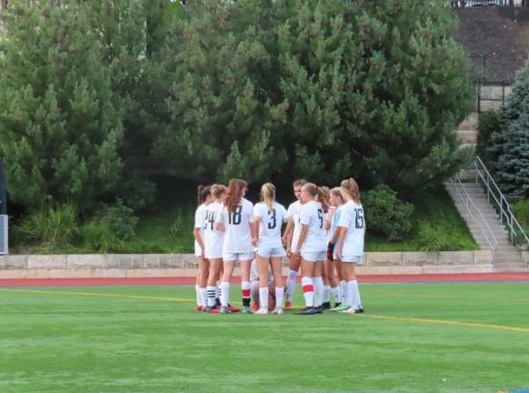Bernards Girls Soccer wins against Mount Saint Mary
