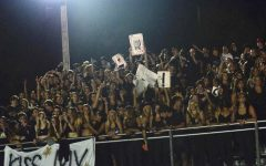 BHS student section at their first home football game 9/24